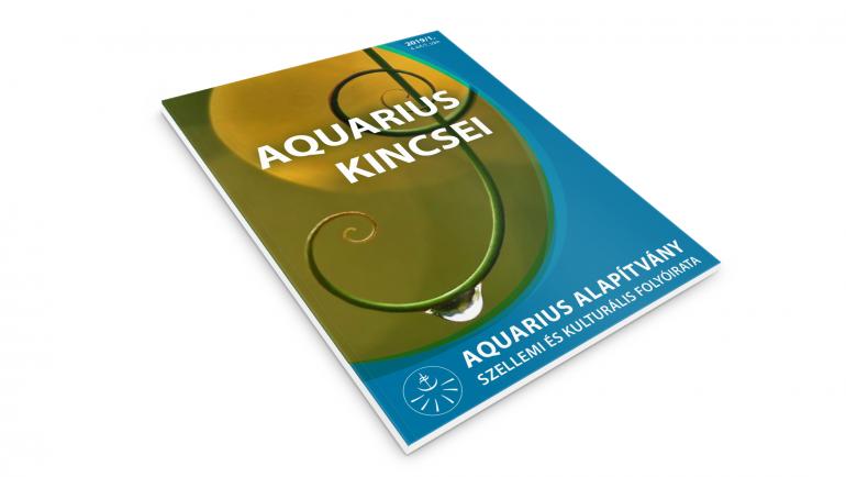 Aquarius Kincsei Folyóirat – 2019/1. szám