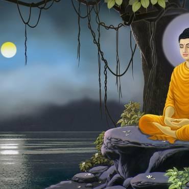 Siddhartától a földi én Buddhában való legyőzéséig